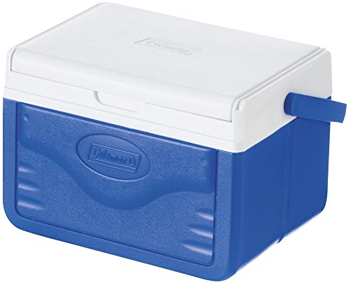 Coleman Performance 6 Personal Cooler, 4 Litre, Small Cool Box for Food and Drinks, Robust Ice Box Suitable for 6 Small Cans, Robust and Sturdy, Stays up to 9 Hours Cool, Lightweight Cooler 2