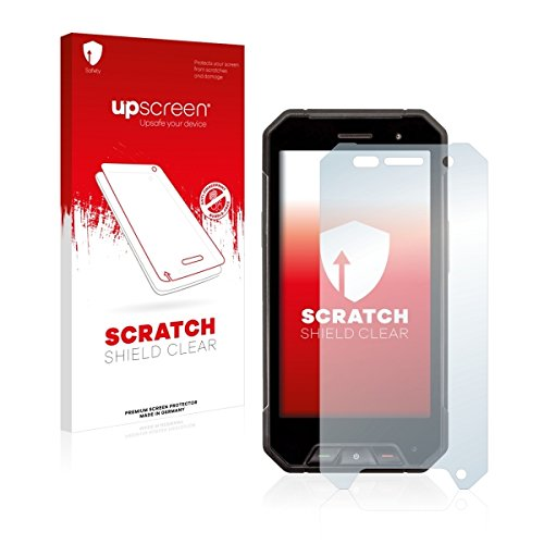 upscreen Scratch Shield Clear Bildschirmschutz Schutzfolie für Cyrus CS 27 (hochtransparent, hoher Kratzschutz)