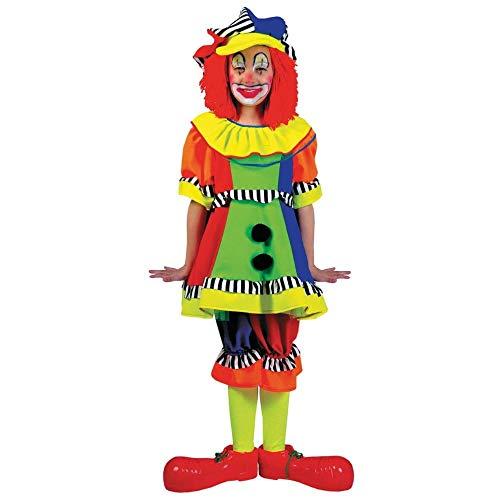 Clown Stripes Kostüm Spanky - Funny Fashion FF60627-S M-dchen Spanky Stripes Clown Kost-m Klein