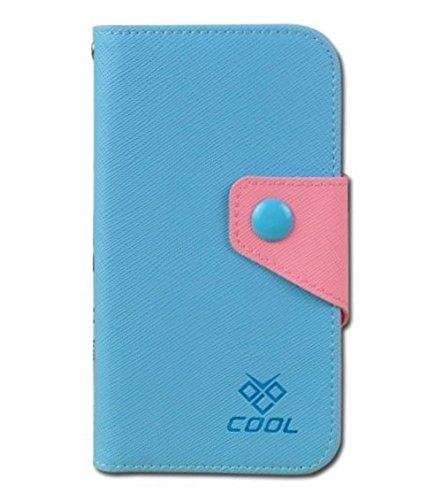 Apple iPhone SE Rainbow Flip Cover Case Coque de Protection Housse Couverture en cuir artificiel (orange) + 1x Gratuit Protecteur D'écran Blue