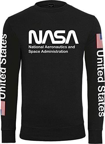 Mister Tee NASA US girocollo Black
