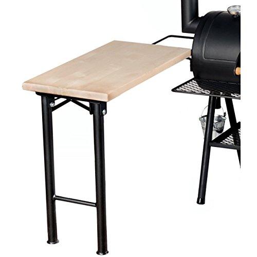 Rumo Barbeque JOEs Seitentisch mit massiver Holzplatte JS 2821