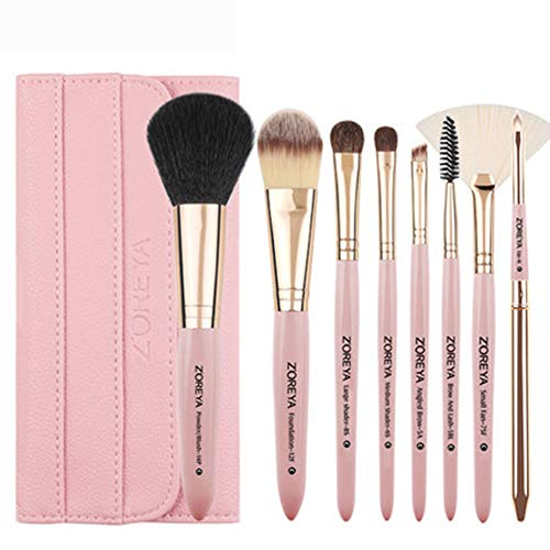 AA-SS-Makeup Brush Kit de pinceaux à Maquillage Set Start Makers Pinceaux à Maquillage Kit de Maquillage Professionnel avec Fondation Pinceau Poudre Poudre Pinceau Pinceau