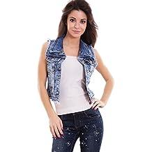 Amazon Toocool Gilet it Corto Jeans gqZwgpr