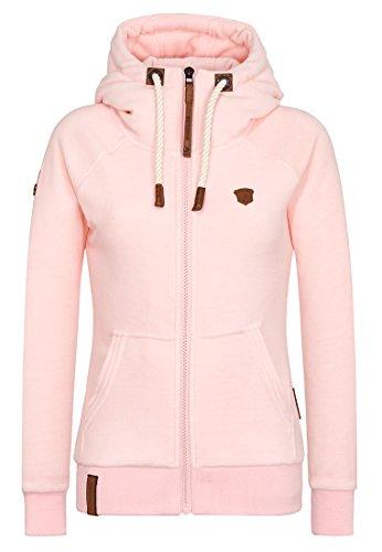 Naketano Female Zipped Jacket Gigi Meroni V Rose Melange, L