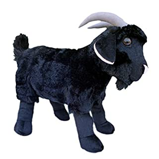 ADORE 15 Renegade the Black Goat Plush Stuffed Animal Toy by Adore Plush Company