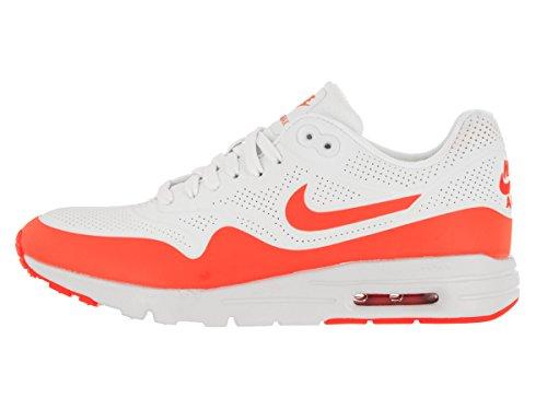 Nike Damen Wmns Air Max 1 Ultra Moire Turnschuhe Blanco (Summit White / Total Crimson)