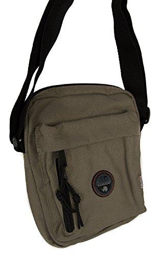 Napapijri Bags Borsa Messenger, 24 cm, 9 liters, Verde (Khaki)