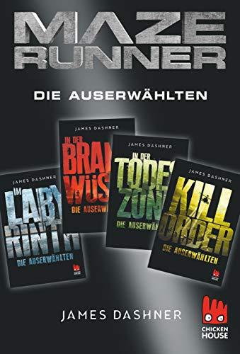 Maze Runner - 4 x Die Auserwählten: Exkusive E-Box: Im Labyrinth, In der Brandwüste, In der Todeszone, Kill Order (Die Auserwählten - Maze Runner)