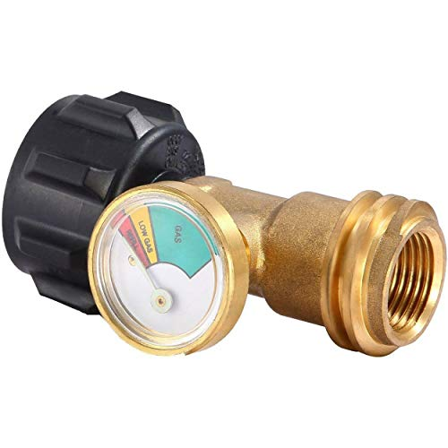 Tree-on-Life Propantank Messing Adapter Mit Manometer 4 Master LP Gas Grill RV 1,6 Mpa 2,0 Mpa 2,5 Mpa -