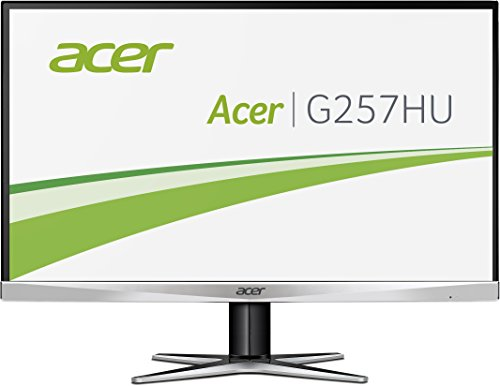 Acer G257HU 25 inch Wide screen Monitor (WQHD, 4 ms, 100M:1, ACM, 350nits, IPS, LED, DVI - DL, HDMI, Displayport,Audio Out)