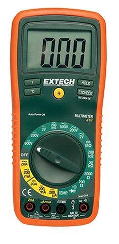 Extech Multimeter (Extech Professionelles 8-Funktionen-Multimeter, 1 Stück, EX410)