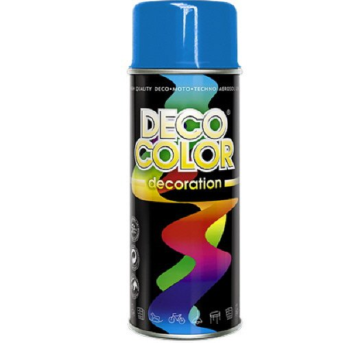 Preisvergleich Produktbild DC Lackspray / Grundierung glänzend 400ml nach RAL freie Farbauswahl (himmelblau glanz RAL 5015)