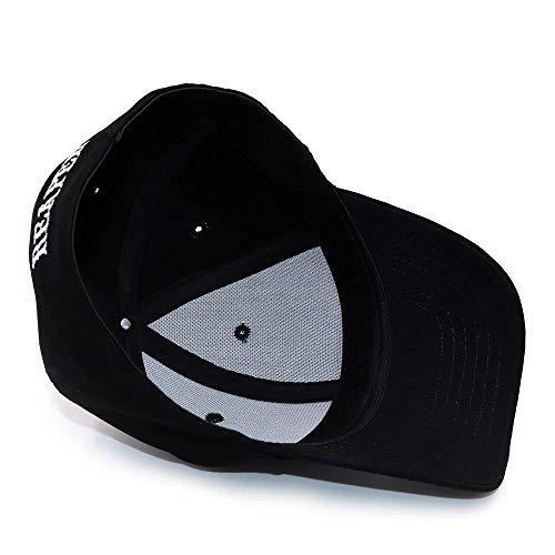 Imagen de fxsyl  de beisbol sombreros negros para reaper crew fit equipado  de béisbol mujeres hombres letras sombrero bordado hip hop sombrero para hombres,d1 alternativa