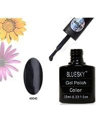 Bluesky 40540Gel UV LED Soak Off Vernis à ongles, Onyx foncé 10ml