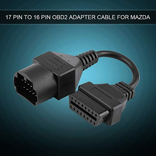 OBD2-Adapter 17 Pin auf 16 Pin Diagnosegerät Kabel für Mazda