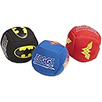 Zoggs Kids DC Super Heroes Splash Balls Pool Toy - Assorted (Red/Blue/Black), 3 Pieces