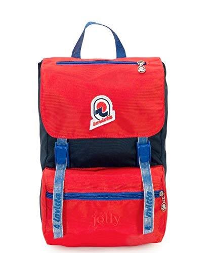 e0d5697143 Invicta Zaino Jolly Vintage S Zaino Casual, 33 cm, 15 litri, Rosso