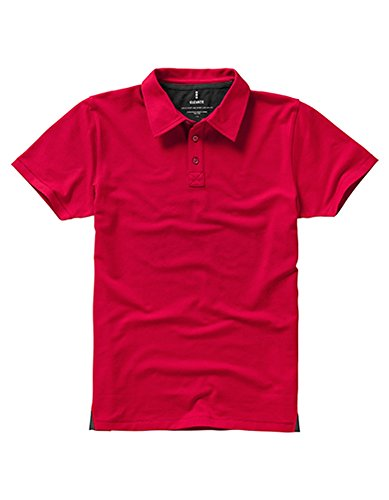 Markham Polo Red-Anthracite (Solid)