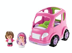 Little People Fahrzeug Mini Van mit Figur und Soundeffekt