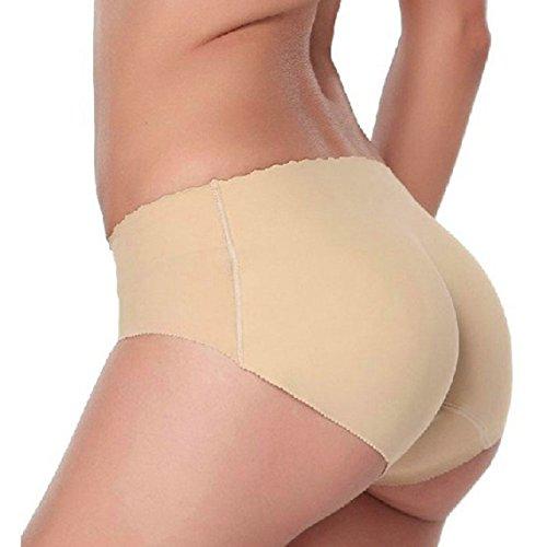 Malloom® Lady Padded Seamless Butt Hip Enhancer Shaper Panties Underwear