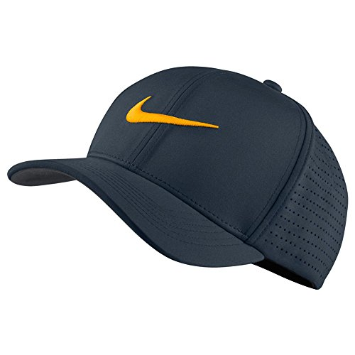 Nike classic99 Perf – Casquette de golf pour homme S Multicolore - bleu marine/anthracite/orange (Armory Navy/Anthracite/Laser Orange)
