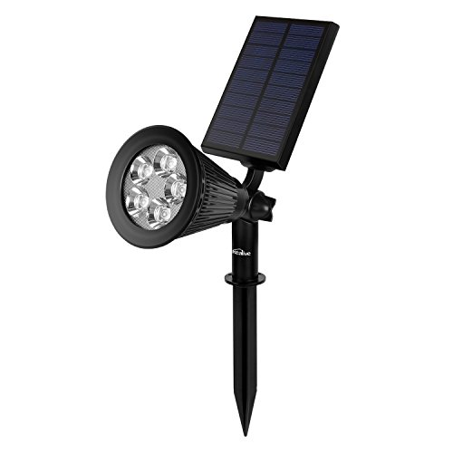 La lámpara solar está diseñada para iluminar el espacio al aire libre, iluminar sus árboles y su casa. Cuando usted enciende el conmutador y ajusta el panal solar en un ángulo perfecto para conseguir la luz del sol, se absorberá automáticamente la en...