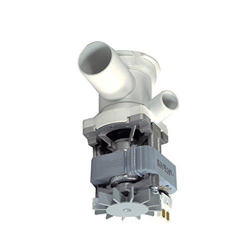 Bosch Siemens 00140470 140470 Ablaufpumpe Spaltmotorpumpe mit Stutzen Siebeinsatz GRE 100 Watt Rechtslauf Waschmaschine auch Airlux Constructa DeDietrich Merker Neff Novomatic Schulthess Foron Vorwerk