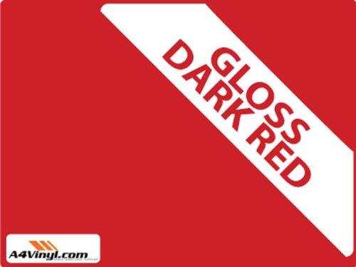a4-color-rojo-oscuro-brillo-297-x-210-mm-1-x-vinilo-autoadhesivo-hoja-grado-de-alta-calidad-de-5-7yr