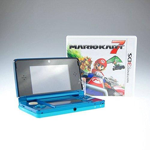 Nintendo 3DS blau mit Mario Kart 7 inklusive Ladekabel und Stift