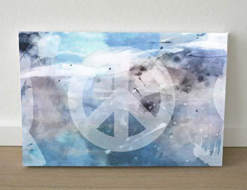 Symbol Peace/Peace Zeichen Junge Wanddekoration Leinwand 20x30 cm Teenager-zimmer Dekoration/Lifestyle für zuhause