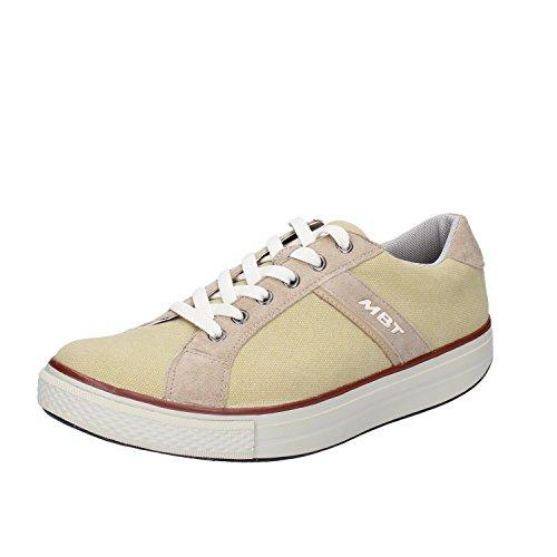 MBT Sneakers Uomo Tessuto Camoscio Giallo