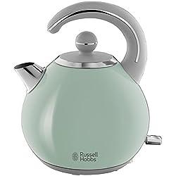 Russell Hobbs 24404-70 - Hervidor Bubble de acero inoxidable con detalles en verde pastel