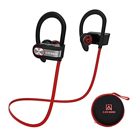 Ecouteur Bluetooth 4.1 Sans Fil casque de sport Oreillette AXCEED