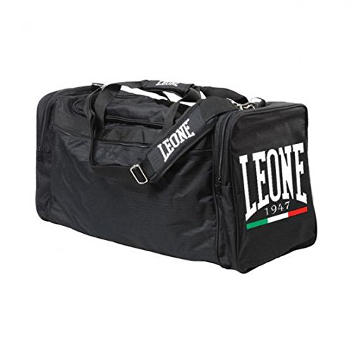 Leone 1947 Ac909 Borsone Sportivo, Nero, Taglia Unica