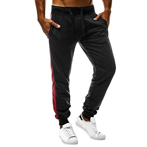 JMETRIC Herren Freizeithose|Jogginghose|Lose Sporttasche Sweatpantrainingshose|Mode Hosen|Moderne Stoffhose
