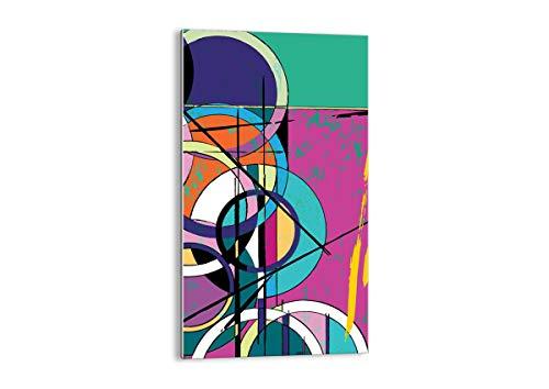 Arttor quadro su vetro - elemento unico - larghezza: 45cm, altezza: 80cm - numero dell'immagine 3601 - pronto da appendere - arte digitale - moderno - quadro in vetro - gpa45x80-3601