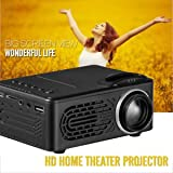 SLB Works Brand New 6000Lumens HD 1080P LED Multimedia Projector Home Theater Cinema VGA HDMI USB SD