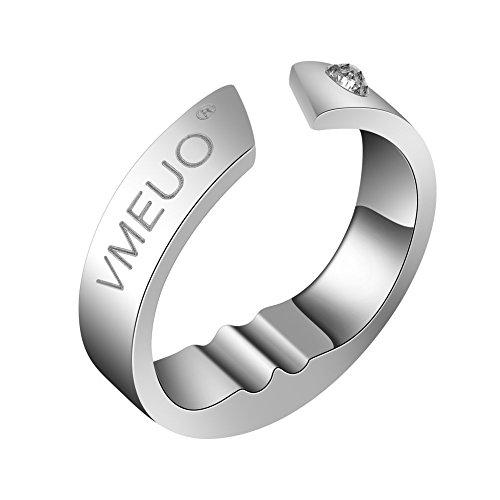 Anti Schnarchen Ring, Verhindern Schnarchen Ring Anti Schnarchen Atemhilfe Akupressur Behandlung Stop Schnarchen Gerät(XL )