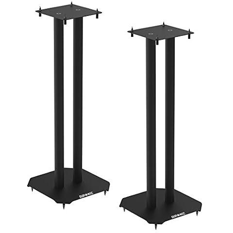 Duronic SPS1022 /60 Pieds d'enceintes Hi-Fi stéréo ou Home Cinéma 5.1 / 7.1 – 60 cm de hauteur - supporte 50 kg