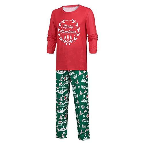 BaZhaHei 2019 Neue Weihnachten Familie Outfit Set Pyjama Set Schlafanzug Kinder Baby Kleidung Pullover Nachtwäsche Passende Nachthemd Negligee Sleepwear Hausanzug -