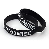 FANwenfeng NBA Basketball Star James I Promise Sport Silikon Armband