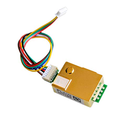 ICQUANZX MH-Z19 Infrarot-CO2-Sensormodul MH-Z19B Kohlendioxid-Gassensor für CO2-Monitor 0-5000ppm MH Z19B -