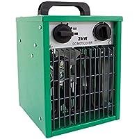 Hydroponics - Calentador eléctrico de Invernadero de 2 kW para Interiores