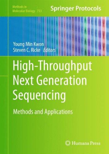Preisvergleich Produktbild High-Throughput Next Generation Sequencing: Methods and Applications (Methods in Molecular Biology,  Band 733)