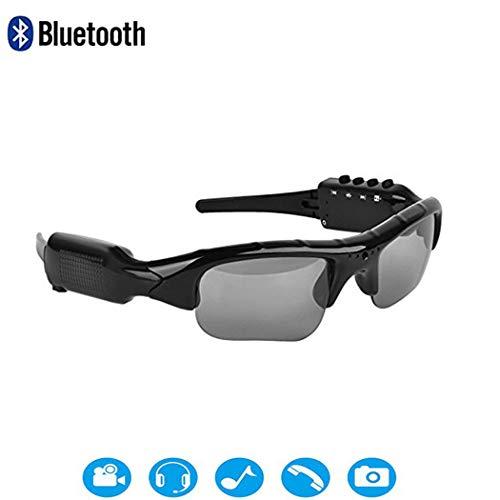 YONGYONG-Sunglasses Neue 1080P HD-Sport-DV-Brille Bluetooth Kann Angeschlossen Werden, Um Musik Zu Hören Und Fotos Von Smart-Brillen Zu Machen