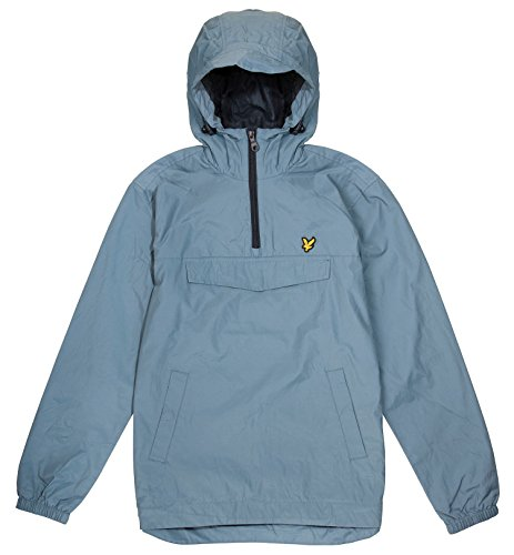 Lyle & Scott Herren Sweatshirt Anorak Mist Blue (Z263)