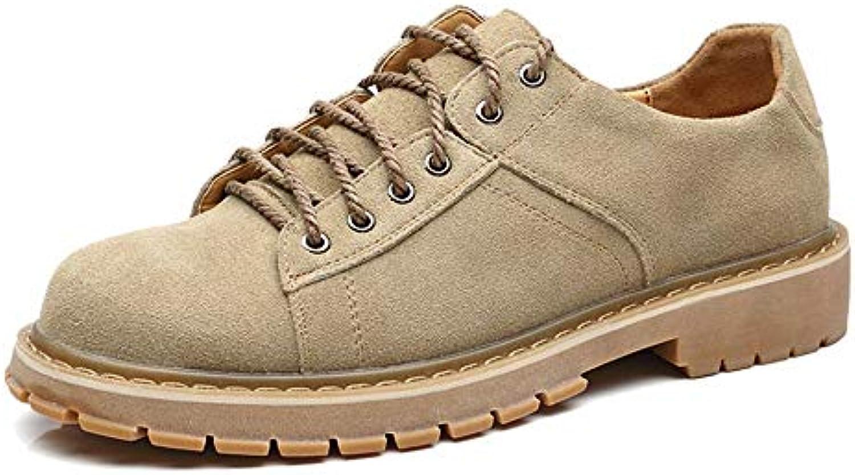 Shufang-scarpe Stivaletti alla Moda da Uomo, Stivali da Lavoro Classici da Indossare in Stile Britannico Classico... | Pacchetti Alla Moda E Attraente  | Scolaro/Ragazze Scarpa