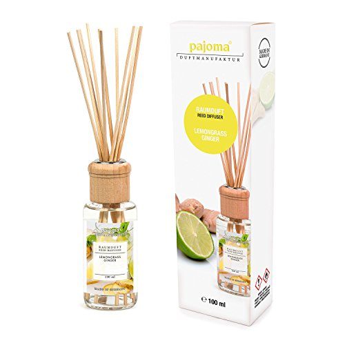 pajoma Raumduft Lemongras Ginger, 1er Pack (1 x 100 ml) in Geschenkverpackung
