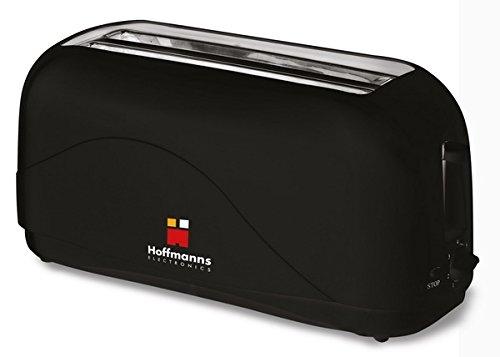 HOFFMANNS 4-Scheiben Langschlitztoaster - Toastautomat mit